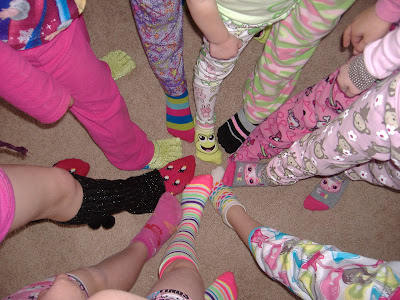 Silly Socks Pajama party  socks