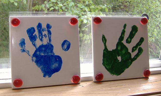 handprint tiles
