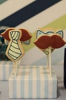 Imprintables tie cookies