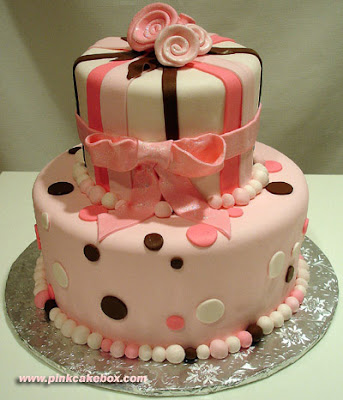 pink cake