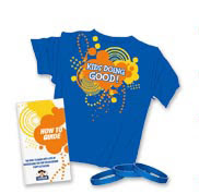 Kids Care Volunteer party kit