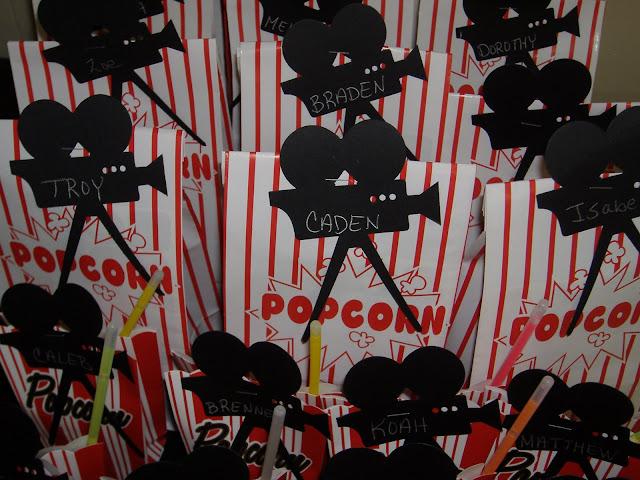 popcorn goody bag