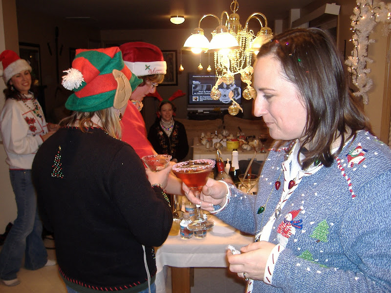 Ugly Sweater Party cocktails