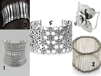 sterling silver cuff collage