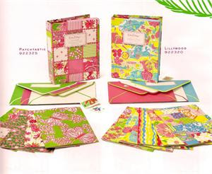Lilly Pulitzer stationery