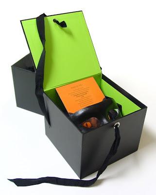 Halloween box invite