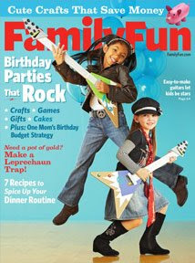 March FamilyFun magazine