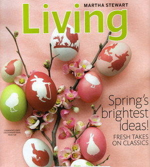 Martha Stewart Living April 2009