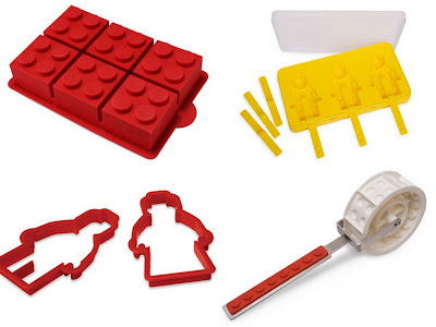 Lego food item collage