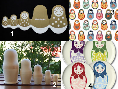 matryoshka collage