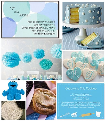 Fine Stationery Cookie Monster collage