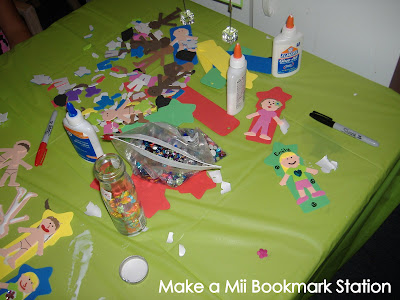 Make a Mii bookmark
