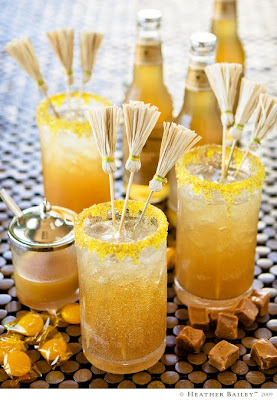 Broomstick drink stirrers