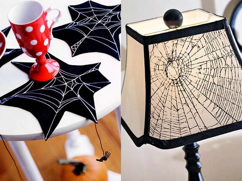 spider table decor