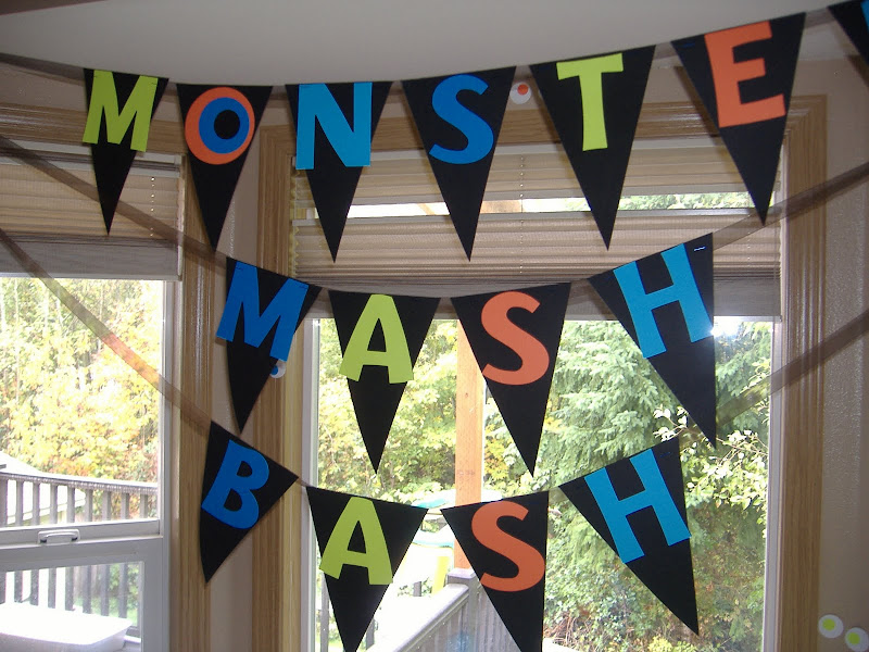 Monster Mash Bash pennant