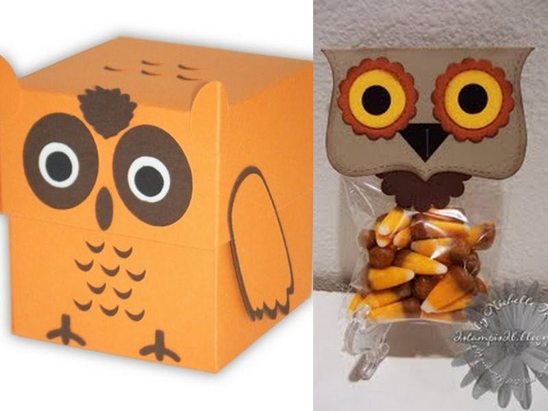 Owl Party Favor Collage