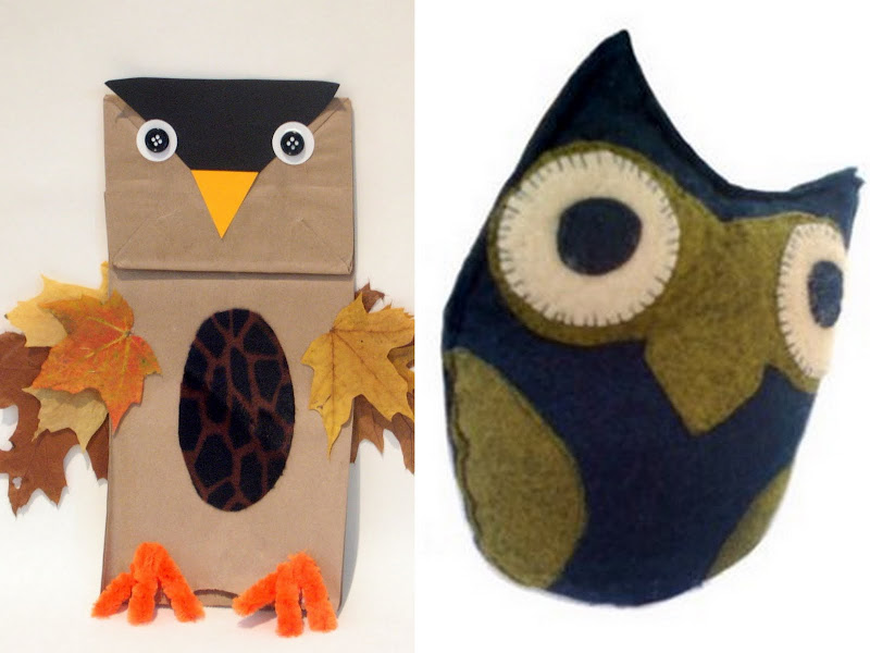 Owl Party Craft Collage