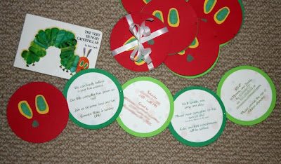 The Very Hungry Caterpillar invite