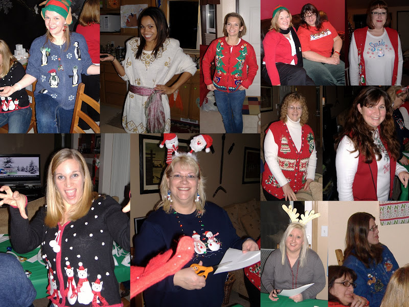 Ugly Sweater Christmas party sweaters