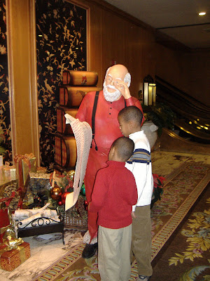 Fairmont Olympic Christmas Santa