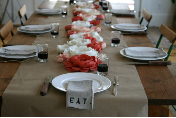 Emerson tablescape
