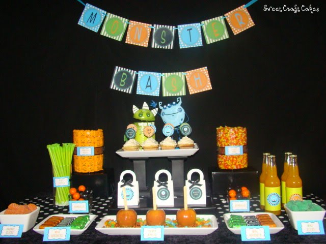 Sweet Craft Cakes Halloween printables