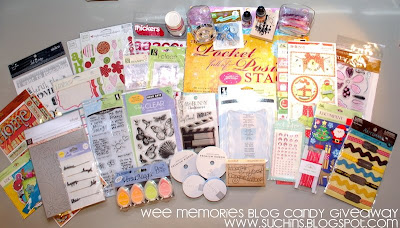 BIG HUGE Blog Candy giveaway TIME!