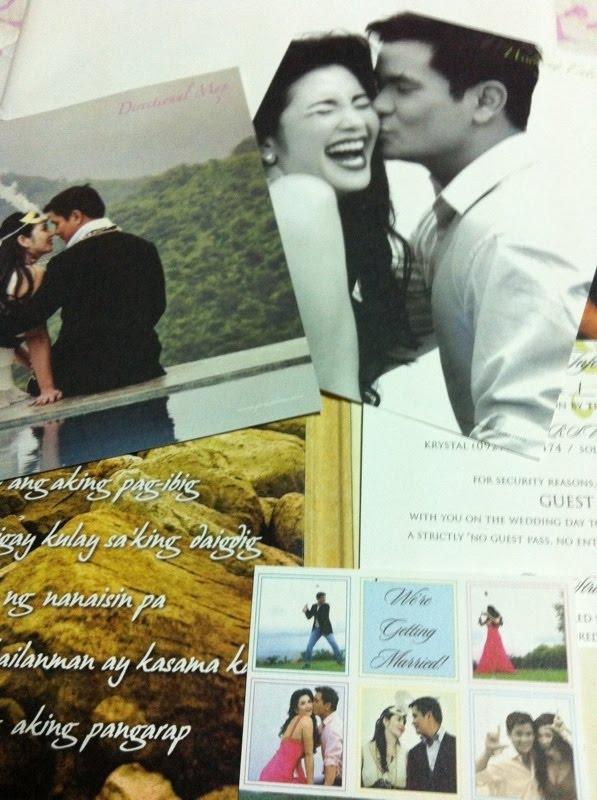 Here 39s the beautiful wedding invitation of Regine Velasquez and Ogie  Alcasid. Felicia s blog  Here 39s the beautiful wedding invitation of