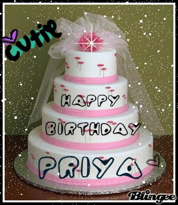 Cake Pic Priya : Happy Birthday Priya Cake Ideas and Designs