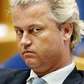 Crapulist Geert Wilders met zijn boeventronie