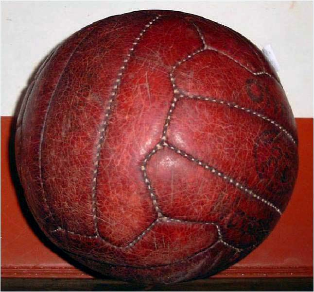 Water Polo Balls made of leather were perhaps not the best idea