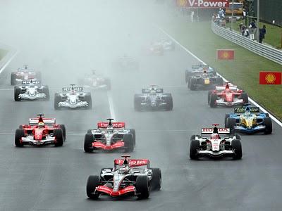 GP da Hungria de Formula 1 , Budapest, Hungaroring, em 2006 - f-1history.blogspot.com