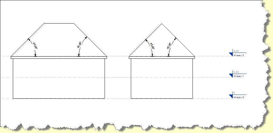 Revitez choisissez la bonne pente for Calcul d une pente de toit en pourcentage