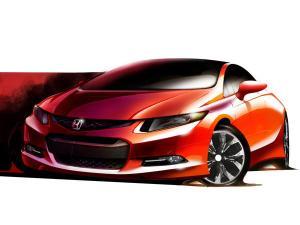 Mobil konsep Honda Civic 2012,Honda Kenalkan Civic Generasi Terbaru