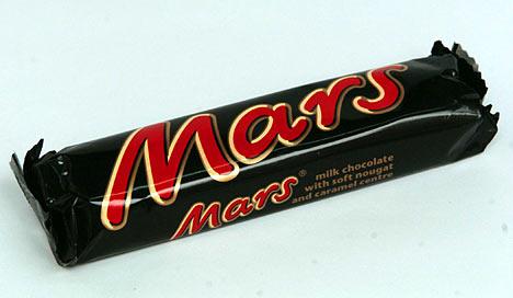 mars bar slice. Fast forward a couple