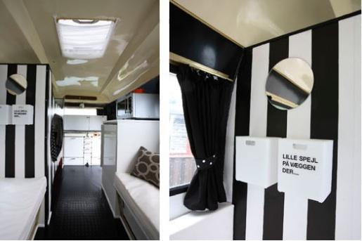 Mi rinc n de sue os una caravana en blanco y negro - Decoracion interior caravanas ...