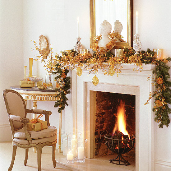 ... Christmas Fireplace Desktop Wallpapers, Christmas Fireplace Pictures