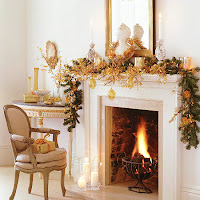 Christmas Fireplace Desktop Wallpapers