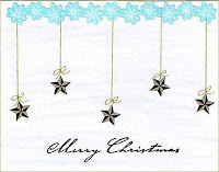 Free Christmas Stars Wallpaper