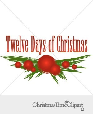 12 Days Christmas Clipart