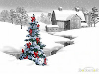 Christmas Scene Desktop Wallpaper
