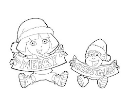 Dora And Boots Coloring Pages Printable