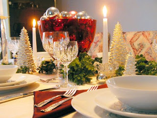 beautiful xmas dinner pictures