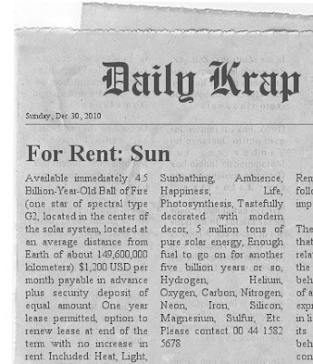 Sun For Rent