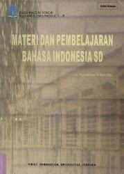 Materi dan Pembelajaran Bahasa  Indonesia SD