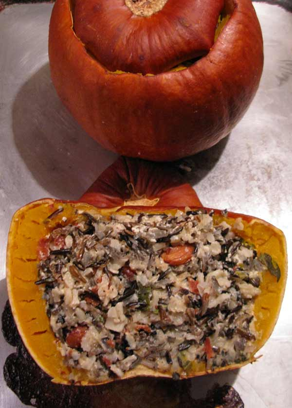 Eat Well, Eat Cheap: Pumpkin Stuffed with Everything Good