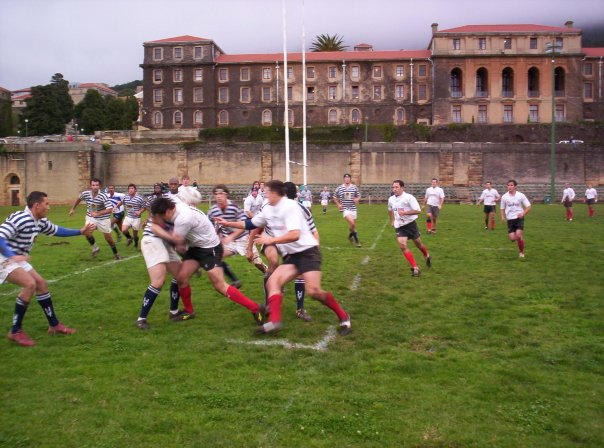 Coach in action against Tygerberg