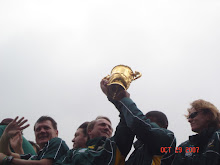 The coveted Willian Webb Ellis Trophy