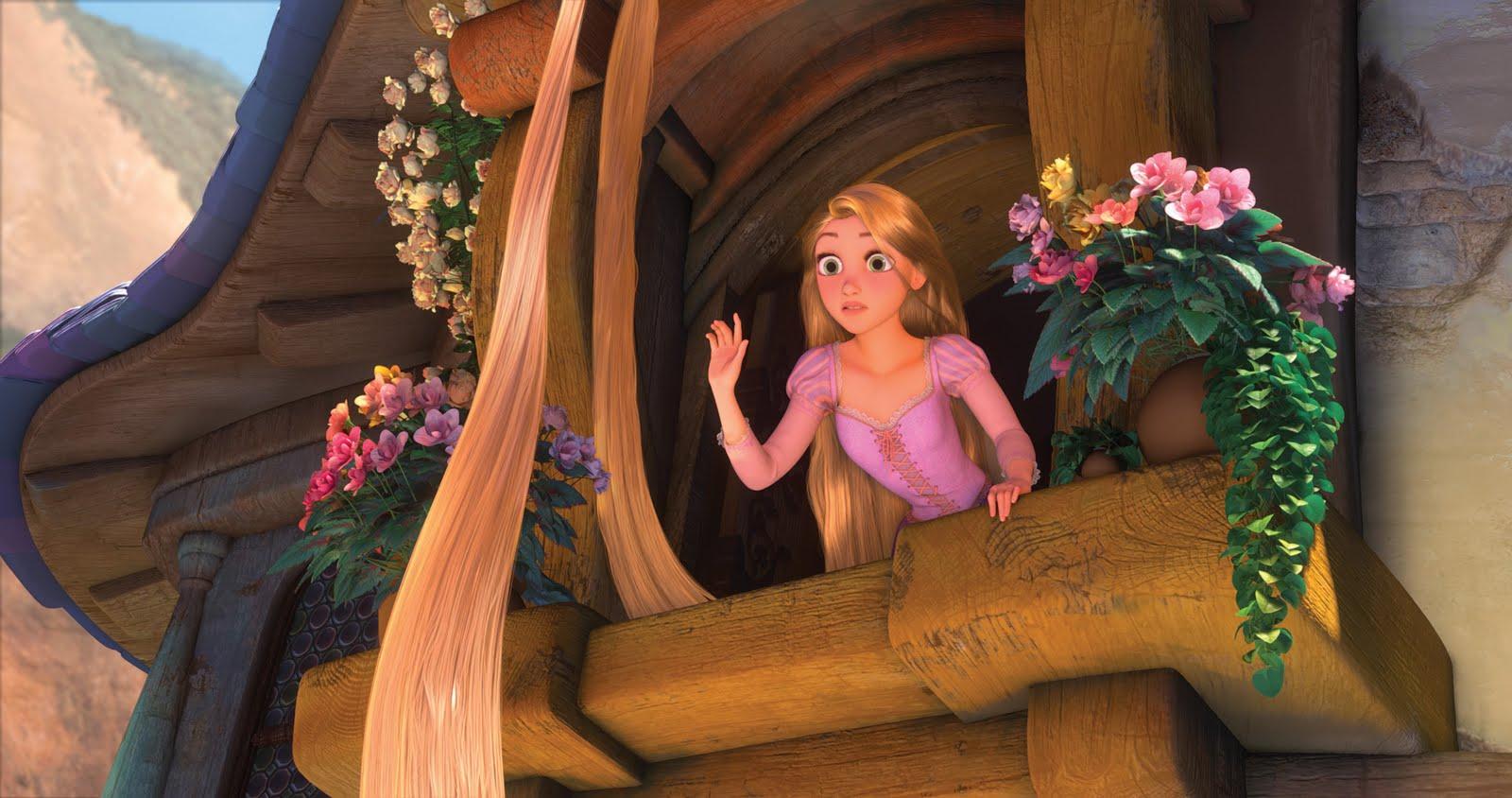 "critique on ""disney restyles 'rapunzel' to"