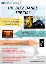 British Council - UK Jazz Dance Flyer